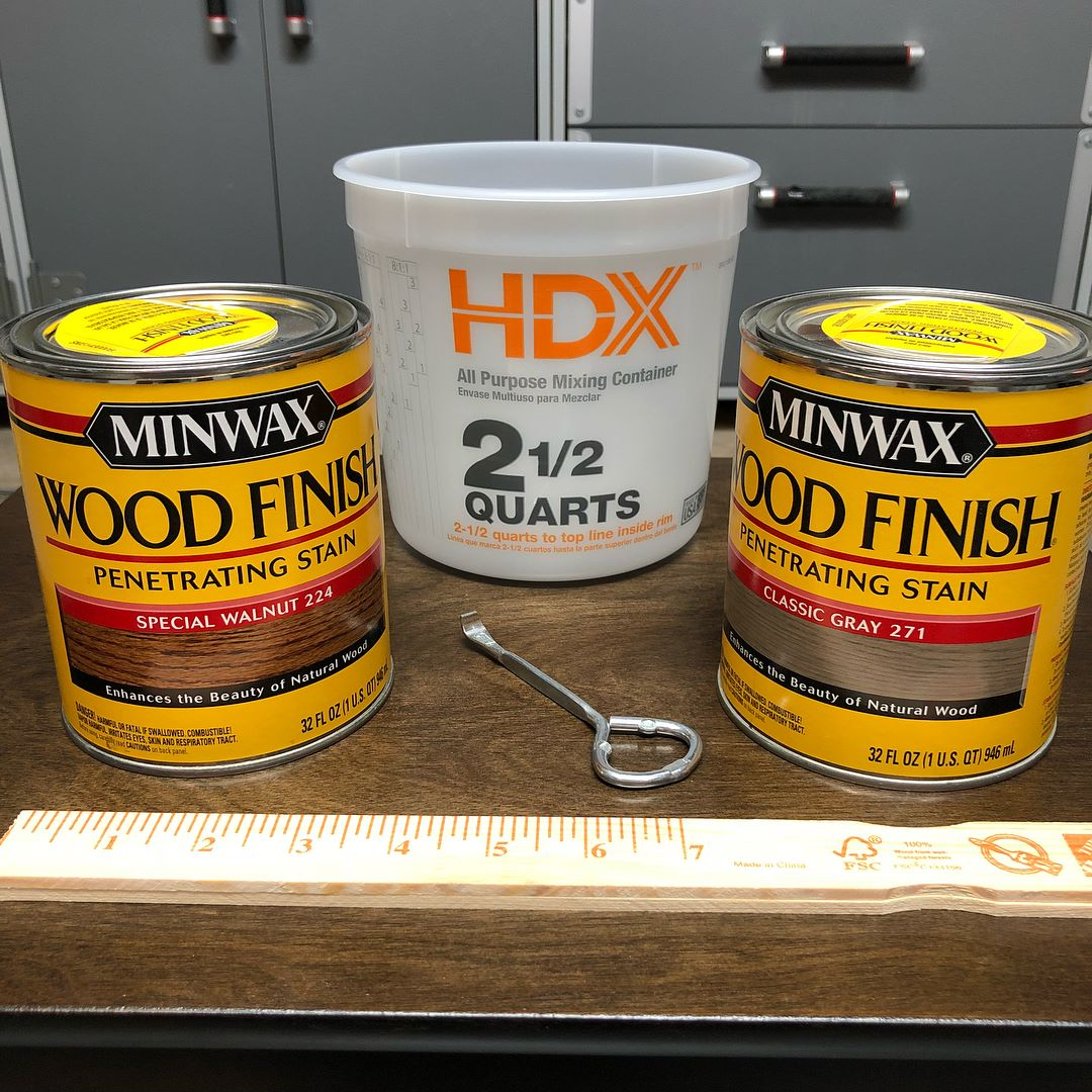 How to Mix Stains to Get a Custom Color